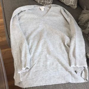 Jcrew 3/4 sleeve sweater